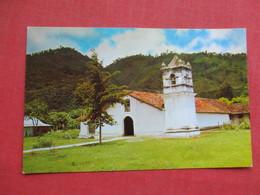 Church Of Orosi  Cartago  Costa Rica       Ref 3426 - Costa Rica