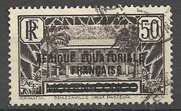 Afrique équatoriale Française  1936    Y&T N° 10   Oblitéré  Bis - A.E.F. (1936-1958)