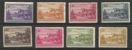 Norfolk Island - 1947 Ball Bay 8 Values MH * - Norfolk Island