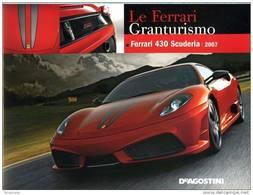 ROBERTO BONETTO FERRARI MONOGRAFIA DEAGOSTINI 430 SCUDERIA 2007 - Books, Magazines, Comics