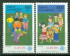 AC - TURKEY STAMP -  EUROPA CEPT CHILDREN GAMES MNH 23APRIL1989 - 1921-... Republik
