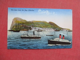 > The Rock From The Bay Gibraltar       Ref 3427 - Gibraltar