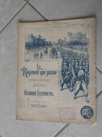 Le Régiment Qui Passe -(Musique Richard Eilenberg) - Partition (Piano) - Klavierinstrumenten