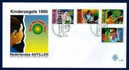 Antillas Holandesas Nº 1025/8 (Sobre Primer Día) - Antillas Holandesas