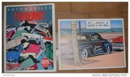 AUTOMOBILES TED BENOIT ALBUM POSTER CASTERMANN - Altri Oggetti Fumetti