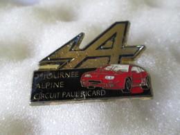 PIN'S   ALPINE  RENAULT  A 610 - Renault