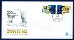 Antillas Holandesas Nº 1009/10 (Sobre Primer Día) - Antillas Holandesas