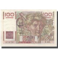 France, 100 Francs, Jeune Paysan, 1952, 1952-09-04, SUP+, KM:128d - 1871-1952 Antichi Franchi Circolanti Nel XX Secolo