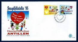 Antillas Holandesas Nº 1007/8 (Sobre Primer Día) - Antillas Holandesas