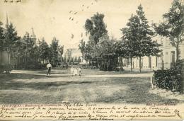 CPA COURTRAI Boulevard De Groeninghe Carte Animée 1903 - Kortrijk