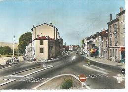 26 - SAINT-VALLIER - LA ROUTE NATIONALE ET LA ROUTE DU CAMPING  ( Animées ) - France
