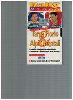 TARGA FLORIO & ALPI ORIENTALI RALLY VIDEO                          Garanzia Cliente EBay Servizio Clienti Tramite Telefo - Sports