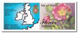 Man 1999, Postfris MNH, Flowers ( Booklet, Carnet ) - Man (Eiland)