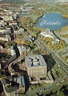 1 AK Finnland * Helsinki - Finlandia-Halle, Olympia Stadion, National Museum Und Parlamentsgebäude - Luftbildaufnahme * - Finnland