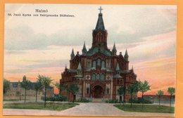 Malmo Sweden 1907 Postcard - Suède