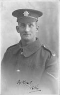 WW1 - KINGS LIVERPOOL REGT - ARTHUR COOPER - PORTRAIT POSTCARD #93024 - Liverpool