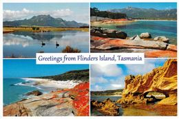 1 AK Flinders Island * Mt. Strzelecki - Trouser Point - East Coast - Marshall Bay - Insel Zw. Australien Und Tasmanien * - Other
