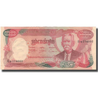 Billet, Cambodge, 5000 Riels, KM:17a, TTB - Cambodia