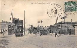 75017-PARIS- LA PORTE DE CLICHY METRO - Arrondissement: 17