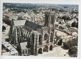 Soissons (aisne) Cathédrale Saint Protais (cp Viergen°1018) Art Gothique - Vue Aérienne - Soissons