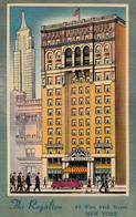 New York City - Hotel Royalton - 44 West 44th Street - Written - Design Harry H. Baumann - 2 Scans - New York City