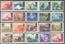 HR 1941-47-65 DEFINITVE, CROATIA HRVATSKA, 1 X 19v, MNH - Croatie