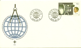 South Africa RSA 1979 15Th Anniv Invention Of Tellurometer (measure Radio Distances) - DR I. R. Wadley FDC Scott 515 - South Africa