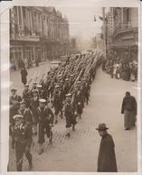 BLUEJACKETS MARCH SHANGHAI FLAGSHIP HAWKINS NANKIN ROAD  CHINE CHINA ASIA 26*20CM Fonds Victor FORBIN 1864-1947 - Lugares