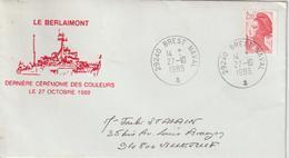 France Berlaimont Brest 1989 - Naval Post