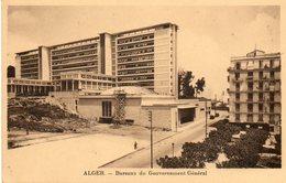 ALGER.....bureaux Du Gouvernement  General - Alger