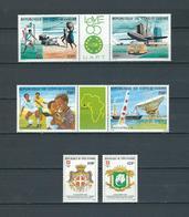 COSTA DE MARFIL (IVORY COAST), 1985 LOT OF STAMPS MNH - Costa De Marfil (1960-...)