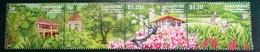 Timbre X 4 - Singapore 2009 - 1,10 Dollar - Botanic Garden (150 Years) - Singapore (1959-...)