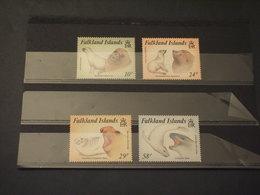 FALKLAND - 1987 FAUNA 4 VALORI - NUOVI(++) - Falkland