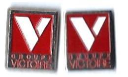 BANQUES AUTRES - BA12 - GROUPE VICTOIRE - 2 Pin's Différents - Verso : DUSEAUX - Banks