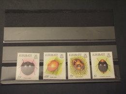 KIRIBATI - 1993 INSETTI 4 VALORI - NUOVI(++) - Kiribati (1979-...)