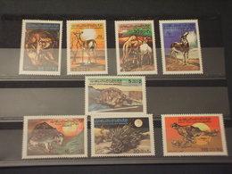 LIBYA - 1979 ANIMALI 8 VALORI - NUOVI(++) - Libia