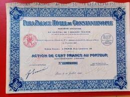 PERA PALACE HOTEL DE CONTANTINOPLE 1922 - Casino