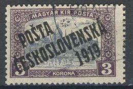 Tchécoslovaquie 1919 Mi 135 (Yv 92), Obliteré - Czechoslovakia