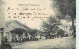 47 SAINT SAUVEUR DE MEILHAN  Centre Bourg Bureau De Tabac   2 Scans - Autres Communes