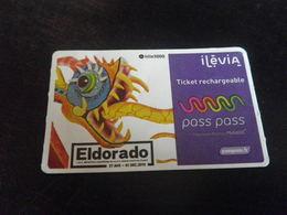 Titre De Transport LILLE - ELDORADO - PASS PASS - Europe