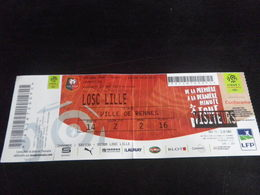 Ticket Football RENNES  LILLE Ligue 1 2018 2019 - Apparel, Souvenirs & Other