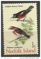 Norfolk Island - 1970 Norfolk Island Robin 1c MNH  **   SG 103  Sc 126 - Norfolk Island