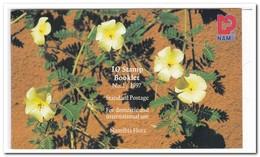 Namibië 1997, Postfris MNH, Flowers ( Booklet, Carnet ) - Namibië (1990- ...)