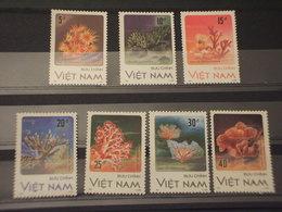 VIETNAM - 1987 CORALLI 7 VALORI - NUOVI(++) - Vietnam