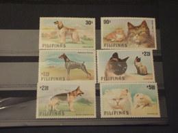 FILIPPINE - 1979 CANI/GATTI 6 VALORI - NUOVI(++) - Filippine