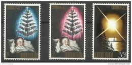 Norfolk Island - 1973 Christmas MNH  **   SG 130-2  Sc 153-5 - Norfolk Island