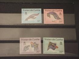 TRISTAN DA CUNHA - 1987 FAUNA 4 VALORI - NUOVI(++) - Tristan Da Cunha