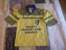 Sport. Football. Habillement. Maillot Supporter Football Croix De Savoie (Evian-Thonon-Gaillard) Saison 2010-2011 - Apparel, Souvenirs & Other