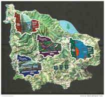 Norfolk Island - 1974 UPU Self Adhesive S/sheet MNH  **   SG MS162  Sc 184a - Norfolk Island