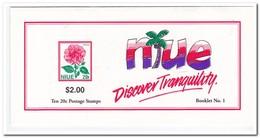 Niue 1996, Postfris MNH, Flowers ( Booklet, Carnet ) - Niue